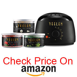 Yeleen hard wax heater pot
